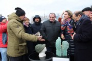 В Тольятти торжественно открыли Итальянский сквер/